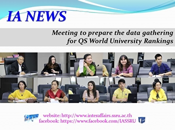 A meeting to prepare the data gathering for QS World University Rankings