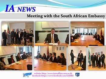 Meeting with the South African Embassy