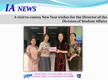 Convey New Year wishes for Director of the Division of Student Affairs